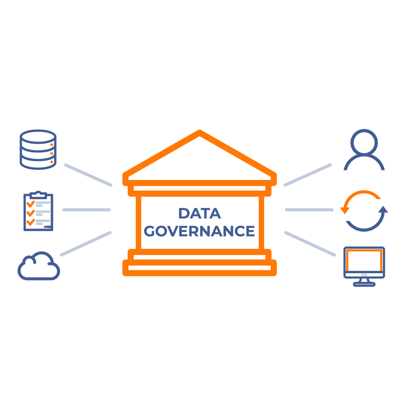Data Governance Icon