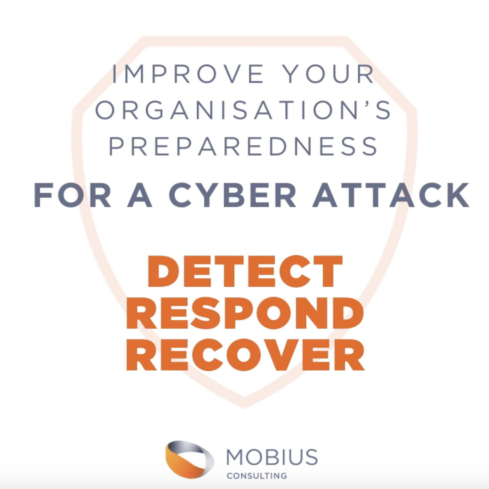 Improve your organisation's preparedness for a cyber attack
